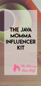 the java momma influencer kit
