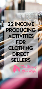 22 income producing activities for direct sellers