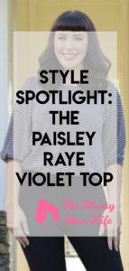 paisley raye violet top