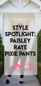 paisley raye pixie pant