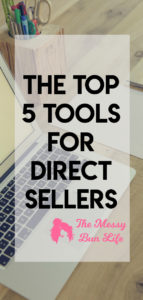 the top 5 tools for direct sellers