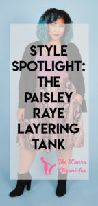 The Paisley Raye Layering Tank