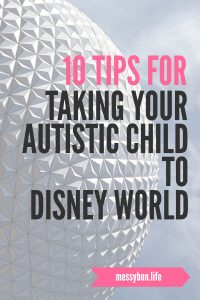 tips for taking your autistic child to disney world