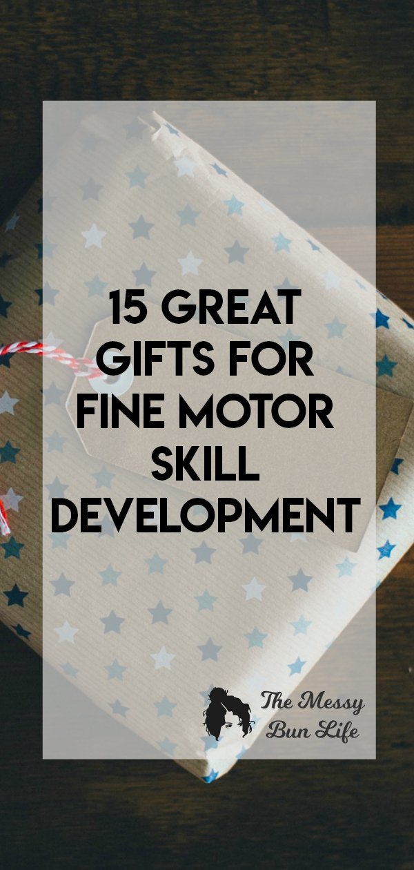 Grab a gift with a purpose. The ability to help develop fine motor skills! #finemotor #gift guide
