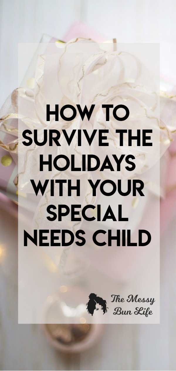 Here are my tips on how to not just survive, but enjoy your holiday season with your child with special needs! #asd #specialneedschild #autism