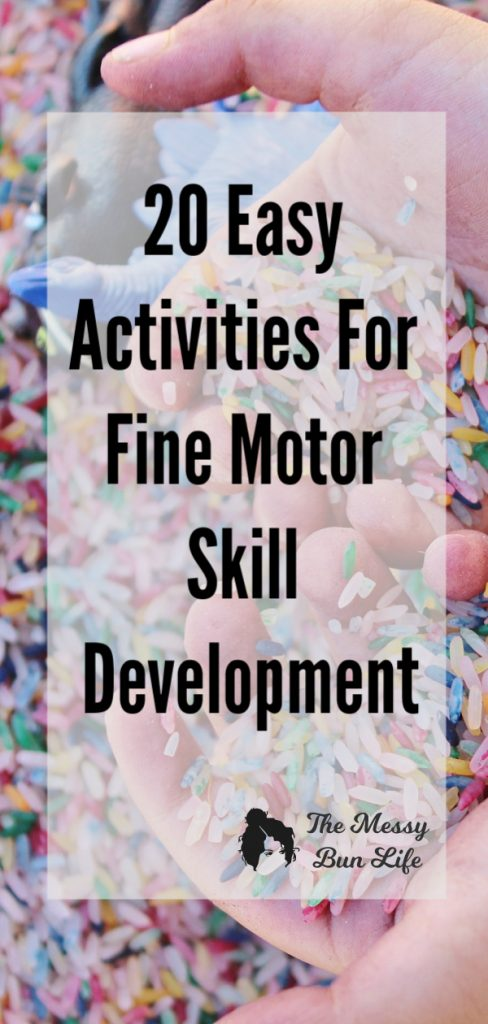 20 Easy Activities for Fine Motor Skill Development