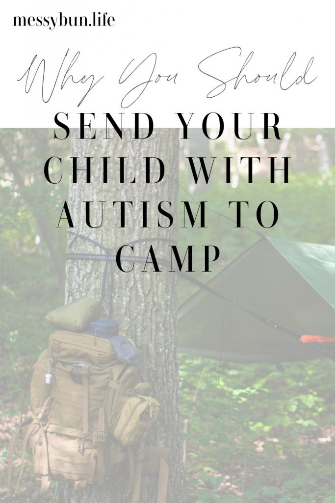Why you should send your child with autism to camp